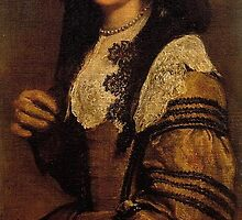 A Young Lady by Diego Velázquez by Adam Asar