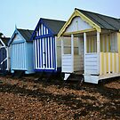 Shoebury Beach Huts by mpstone