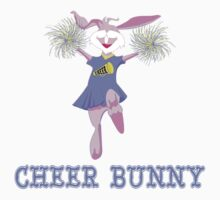 Cheer Bunny by SportsT-Shirts