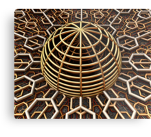 Collecting Space Metal Print