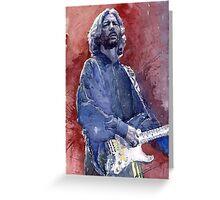 Eric Clapton 04 Greeting Card
