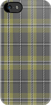 00291 Cairngorm District Tartan Fabric Print Iphone Case by Detnecs2013