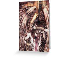 Zonde - Fallen Angel Greeting Card