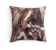 Zonde - Fallen Angel Throw Pillow