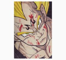 Majin Vegeta by demoose