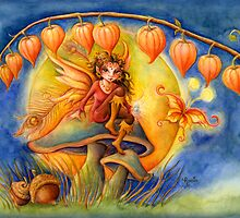 Harvest Moon Faerie by Rocio Mariposa