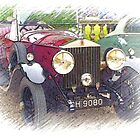 1929 Rolls Royce 20/25 .. a star of Blandings! by oulgundog