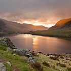Dawn at Llyn Idwal by ajwimages