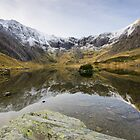 Llin Idwal and The Glydyrs by ajwimages
