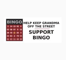 Support bingo! Kids Clothes