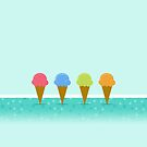 Ice creams by Alejandro Durán Fuentes
