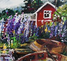 Summer In Sweden by Barbara Pommerenke