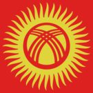 Living Kyrgyzstan Flag by cadellin