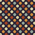 Retro Polka Dots by ChunkyDesign