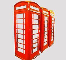 London Call Box iPhone iPod Case by wlartdesigns