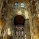 Peterborough Cathedral 2 by Fe Messenger