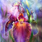 Iris - Goddess Of Healing by Carol  Cavalaris
