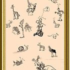 Silly Drawings by a Fool by jollykangaroo