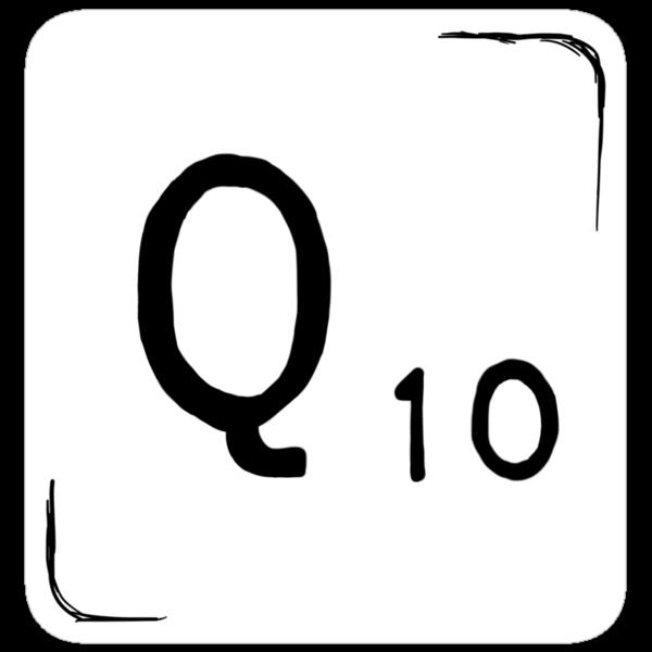 Q Scrabble Tile [sticker version] by Jo Alfie Wimborne