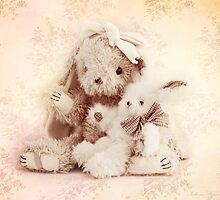 Two little rabbits by Katharina Hilmersson