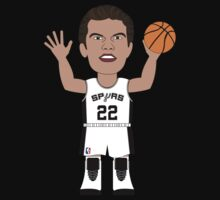 NBAToon of Tiago Splitter, player of San Antonio Spurs by D4RK0