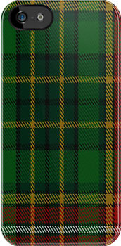00320 Donegal County Crest Range Tartan Fabric Print Iphone Case by Detnecs2013