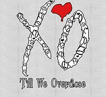 XO Till We Overdose (iPad Case) by YungFly413