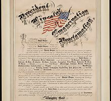 President Lincoln's emancipation proclamation 2 by Adam Asar