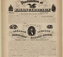 the Emancipation proclamation by Adam Asar