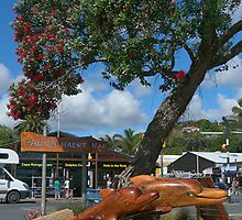 Downtown Paihia, Bay of Islands, New Zealand.......! by Roy  Massicks