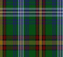 00323 Down County, Crest Range Tartan Fabric Print Iphone Case by Detnecs2013
