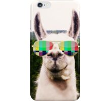 Llama Americana iPhone Case/Skin