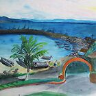 Old Harbor at Cruz by Anita Wann
