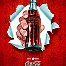 Classic Retro Coca-cola Art by Alex & Marco Mitolo