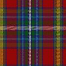 00340 Mayo County, Crest Range District Tartan Fabric Print Iphone Case by Detnecs2013