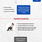 Drafting Chairs- Make the Right Choice! by Infographics