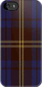 00354 Sligo County District Tartan Fabric Print Iphone Case by Detnecs2013