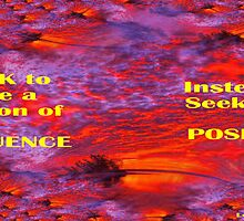 SEEK TO INFLUENCE by Lorraine Wright