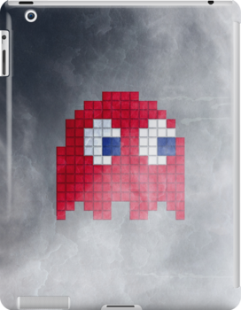 Pac-Man Red Ghost by Psocy