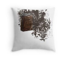 Screw Reality  Throw Pillow