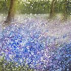 Bluebell Woods by izumiomoriart