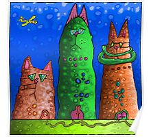 Cat City revisited  Poster