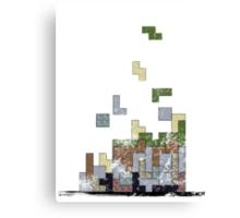 MineTetris Canvas Print