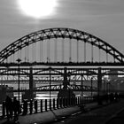 Bridges over the River Tyne by Bob Noble