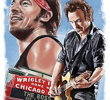 Bruce Springsteen by tsantiago