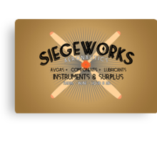 Siegeworks Aeronautics Canvas Print