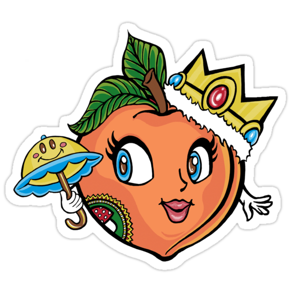 The Crown Peach by Ameda Nowlin