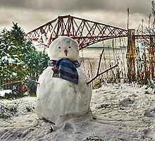Snowman - cropped by Tom Gomez