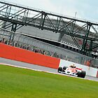 McLaren M26 at Silverstone by Tom Clancy