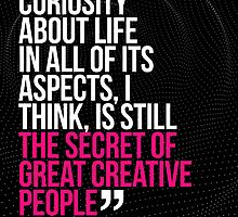 Creative Quote Design 003 Leo Burnett by Enchanted Studios